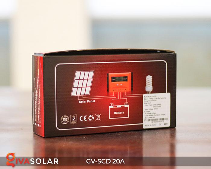 Bộ sạc năng lượng mặt trời GV-SCD-20A 7