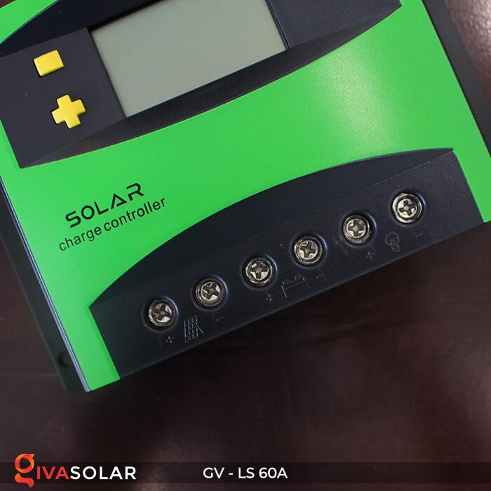 Bộ sạc pin năng lượng mặt trời GV-LS-60A 6