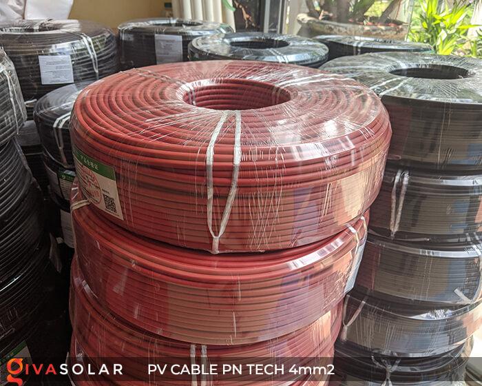 Dây Cáp điện solar PN Tech 4mm2 15