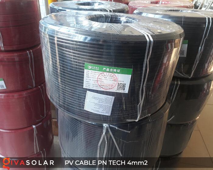 Dây Cáp điện solar PN Tech 4mm2 16