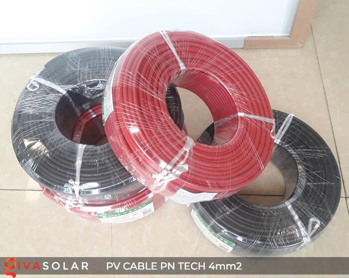 Dây Cáp điện solar PN Tech 4mm2 2