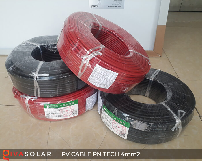 Dây Cáp điện solar PN Tech 4mm2 3