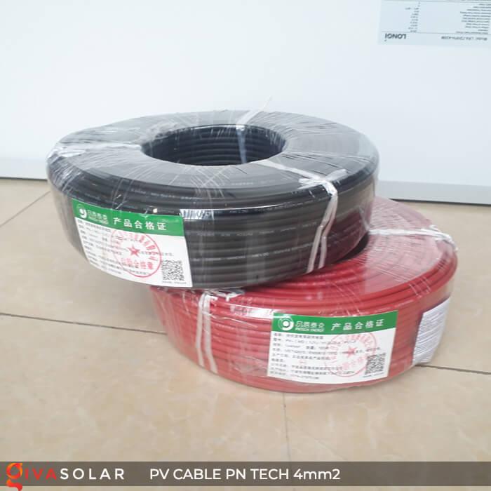 Dây Cáp điện solar PN Tech 4mm2 4