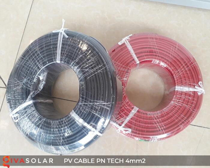 Dây Cáp điện solar PN Tech 4mm2 6