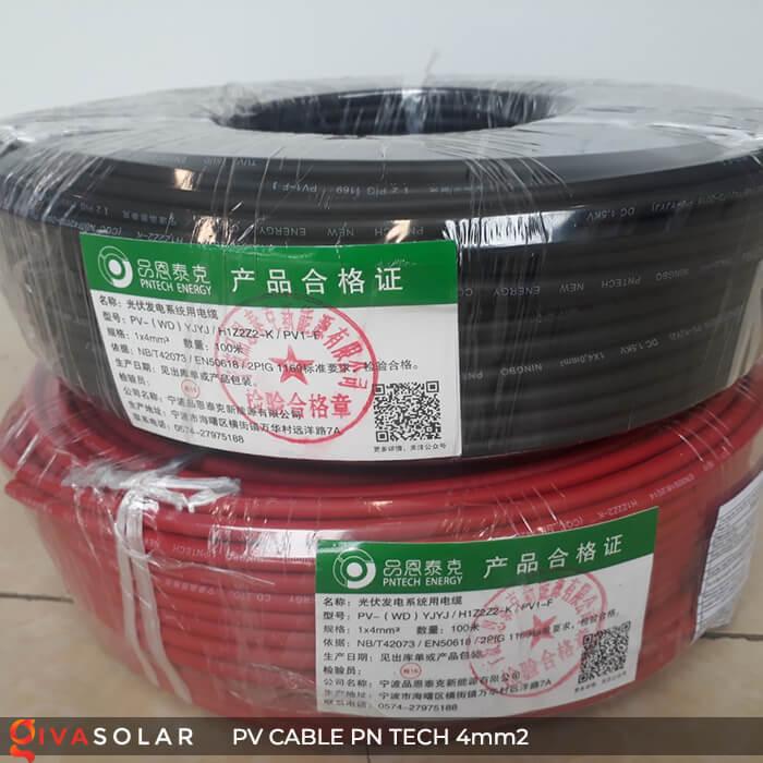 Dây Cáp điện solar PN Tech 4mm2 7