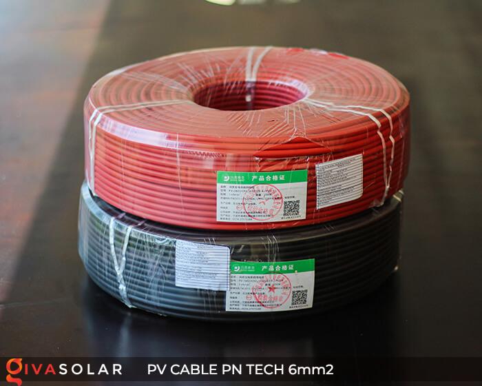 Dây cáp điện DC năng lượng mặt trời PN Tech 6mm2 1