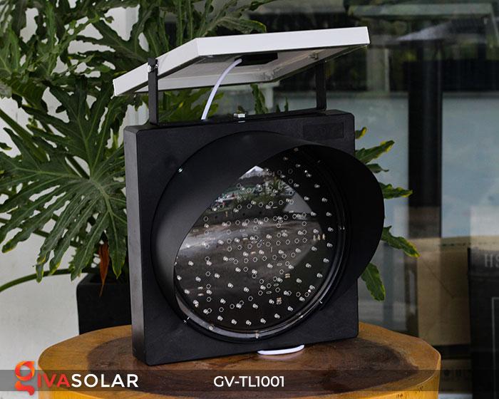 Đèn LED cảnh báo giao thông năng lượng mặt trời GV-TL1001 1