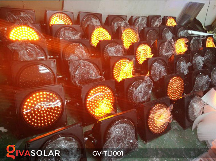 Đèn LED cảnh báo giao thông năng lượng mặt trời GV-TL1001 11