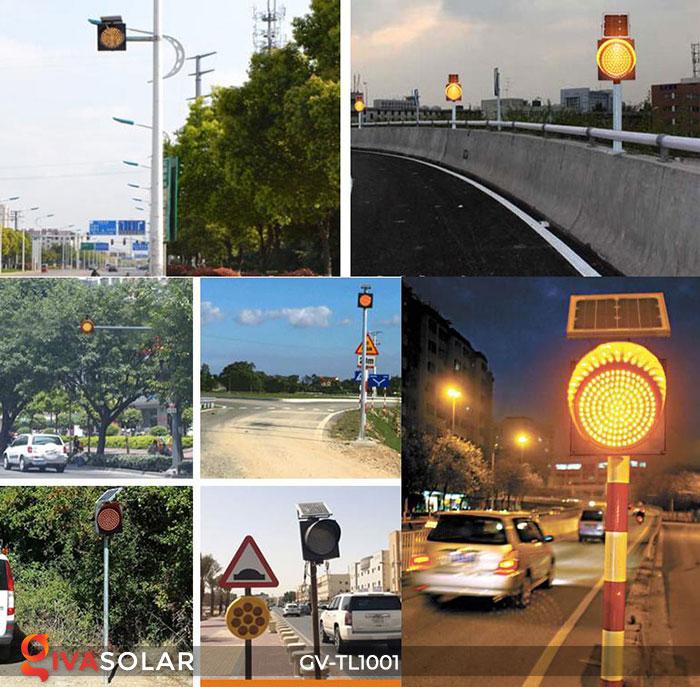 Đèn LED cảnh báo giao thông năng lượng mặt trời GV-TL1001 17