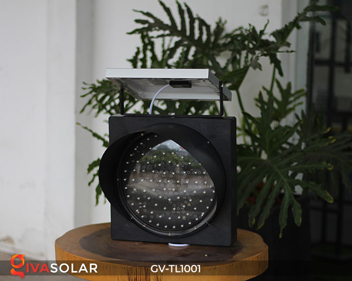 Đèn LED cảnh báo giao thông năng lượng mặt trời GV-TL1001 2