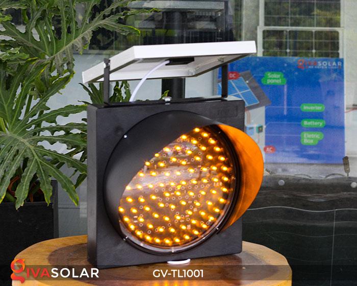 Đèn LED cảnh báo giao thông năng lượng mặt trời GV-TL1001 4