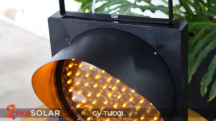 Đèn LED cảnh báo giao thông năng lượng mặt trời GV-TL1001 8