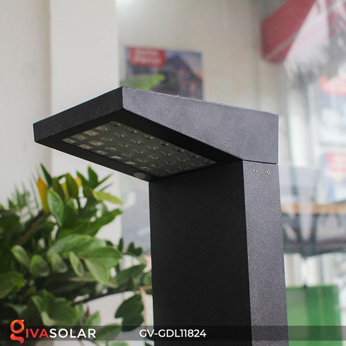 Đèn trụ sân vườn năng lượng mặt trời GV-GDL11824 11