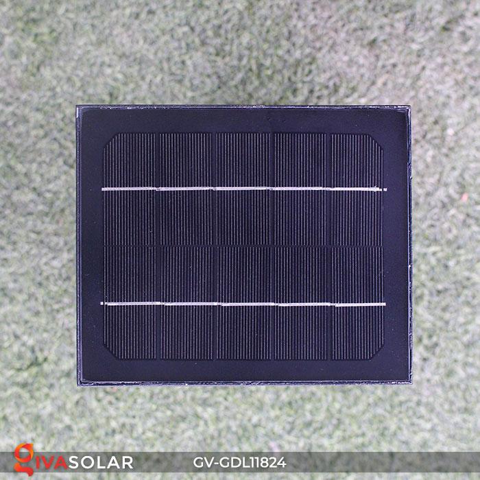 Đèn trụ sân vườn năng lượng mặt trời GV-GDL11824 12