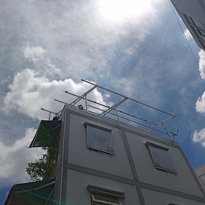 hòa lưới điện mặt trời cho hộ gia đình 5KWP - Chị Linh - Tân Phú 2