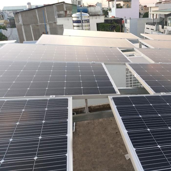 hòa lưới điện mặt trời cho hộ gia đình 5KWP - Chị Linh - Tân Phú 4