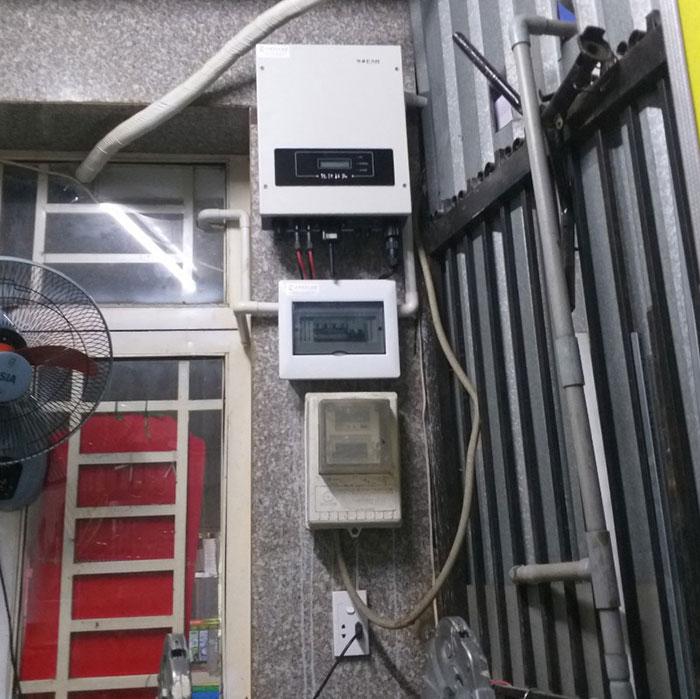 hòa lưới điện mặt trời cho hộ gia đình 5KWP - Chị Linh - Tân Phú 6