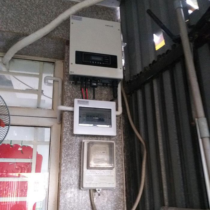 hòa lưới điện mặt trời cho hộ gia đình 5KWP - Chị Linh - Tân Phú 7
