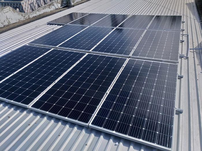 hệ thống điện mặt trời hòa lưới 5KW Anh Mến Cần Thơ 3