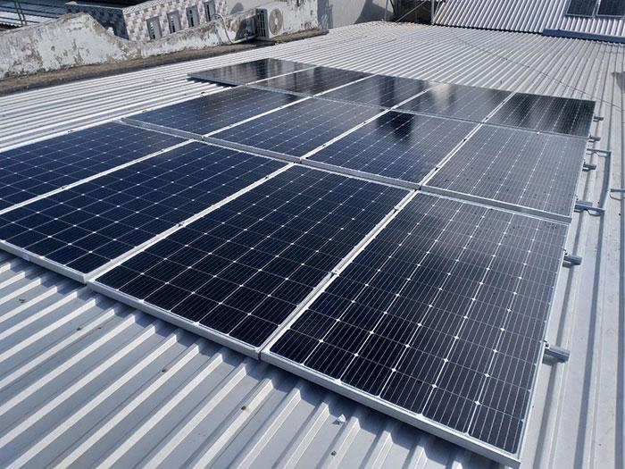 hệ thống điện mặt trời hòa lưới 5KW Anh Mến Cần Thơ 4