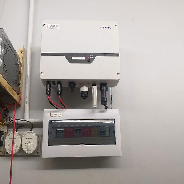 hệ thống điện mặt trời hòa lưới 5KW Anh Mến Cần Thơ 6