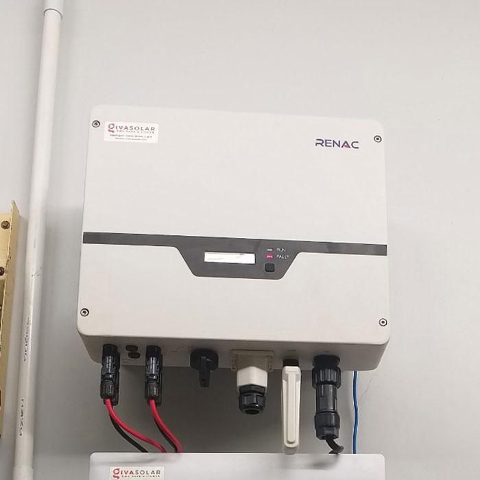 hệ thống điện mặt trời hòa lưới 5KW Anh Mến Cần Thơ 7