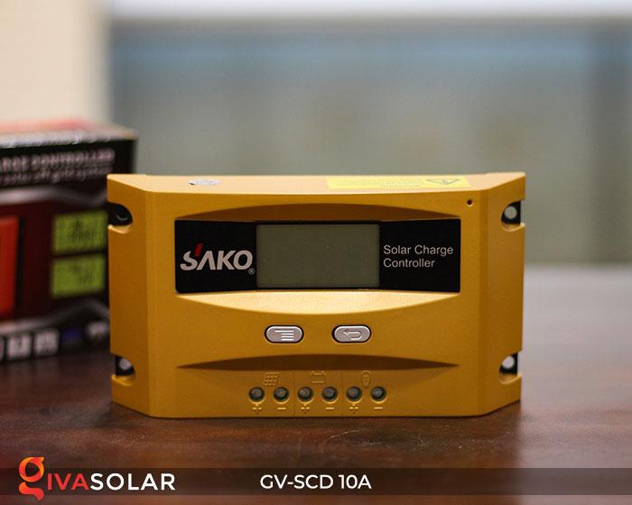 Điều khiển sạc pin năng lượng mặt trời GV-SCD-10A 1