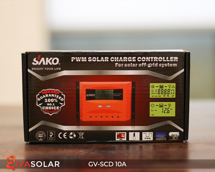 Điều khiển sạc pin năng lượng mặt trời GV-SCD-10A 7