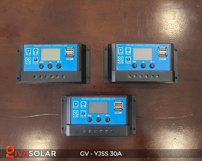 Điều khiển sạc năng lượng mặt trời GV-YJSS-30A 1