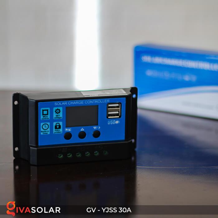 Điều khiển sạc năng lượng mặt trời GV-YJSS-30A 2
