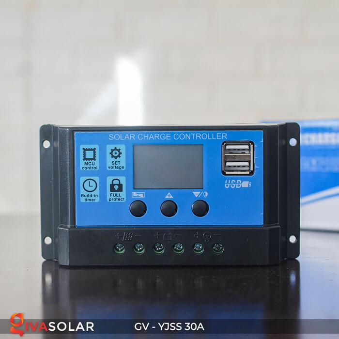 Điều khiển sạc năng lượng mặt trời GV-YJSS-30A 3