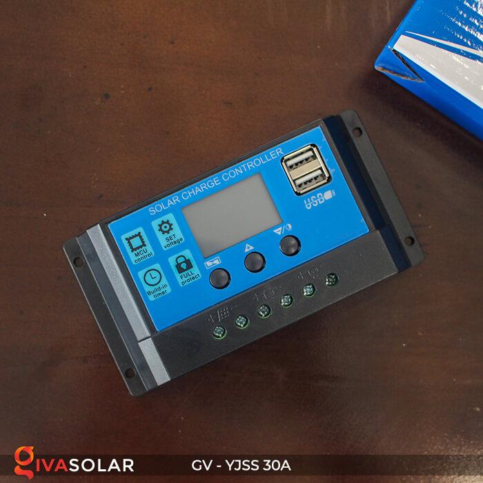 Điều khiển sạc năng lượng mặt trời GV-YJSS-30A 4