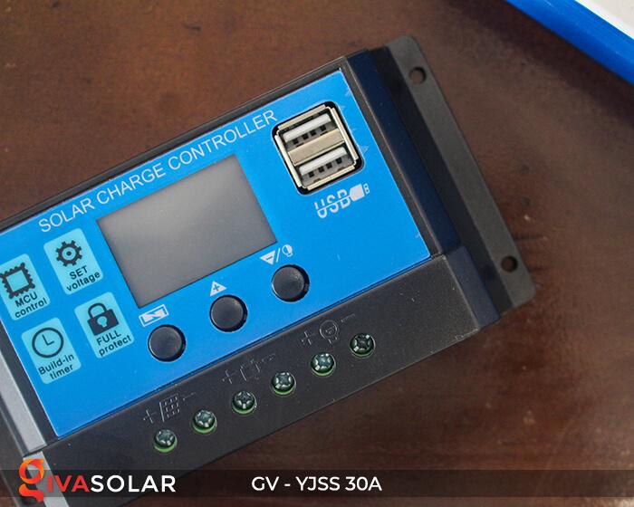 Điều khiển sạc năng lượng mặt trời GV-YJSS-30A 6
