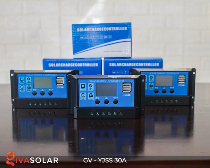 Điều khiển sạc năng lượng mặt trời GV-YJSS-30A 8