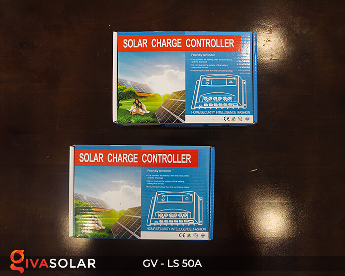 Solar charge controller GV-LS-50A 1