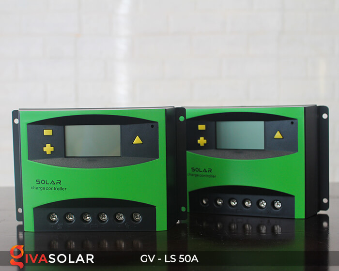 Solar charge controller GV-LS-50A 4