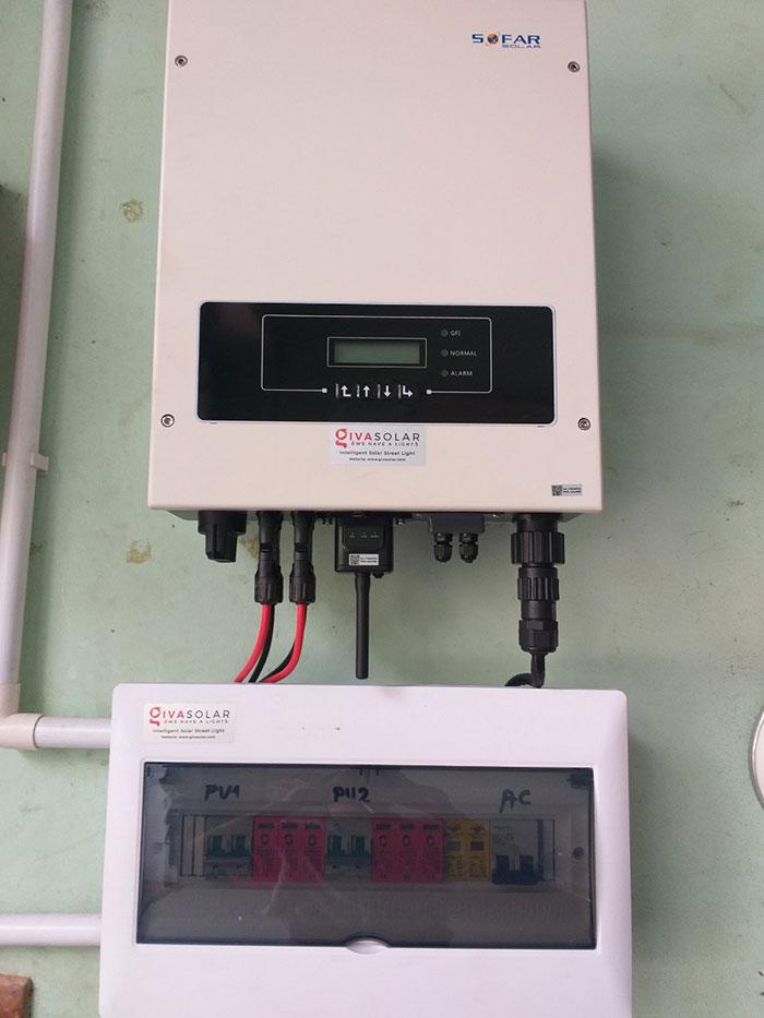 Dự án điện năng lượng mặt trời hòa lưới 5KWP cho anh Huân ở Quận 8 5