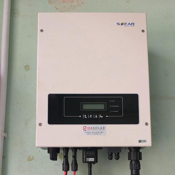 Dự án điện năng lượng mặt trời hòa lưới 5KWP cho anh Huân ở Quận 8 6