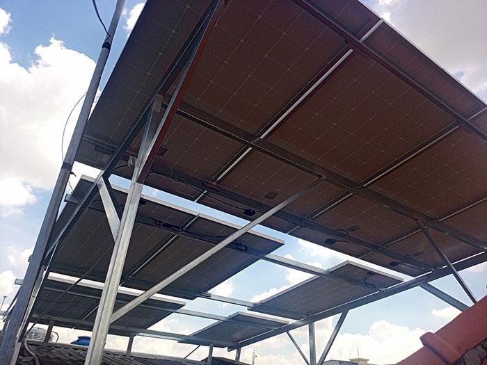hệ thống điện mặt trời hòa lưới 5KW Anh Dũng Tân Phú 4