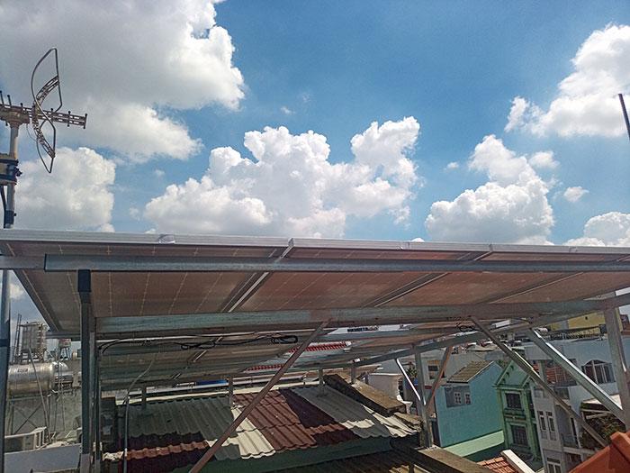 hệ thống điện mặt trời hòa lưới 5KW Anh Dũng Tân Phú 5