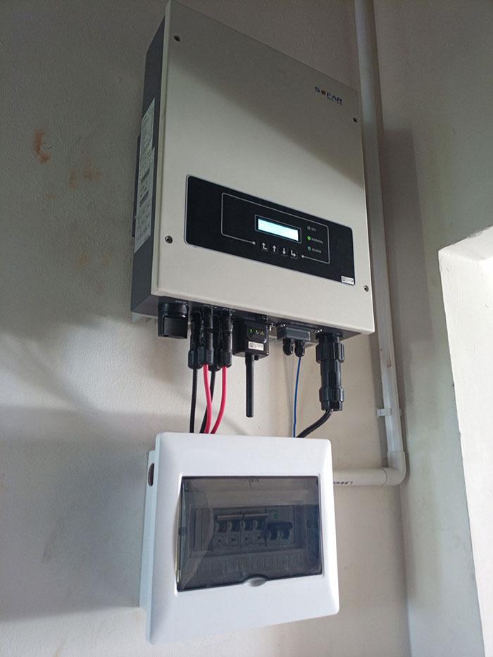 hệ thống điện mặt trời hòa lưới 5KW Anh Dũng Tân Phú 6