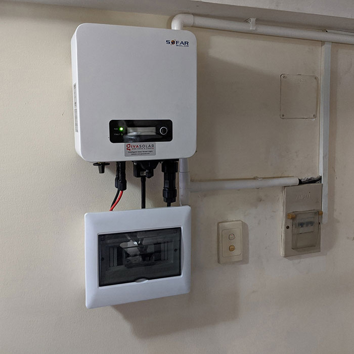 Dự án lắp đặt hệ thống hòa lưới điện mặt trời 4KWp ở Phú Nhuận 10