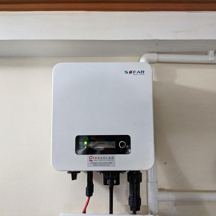 Dự án lắp đặt hệ thống hòa lưới điện mặt trời 4KWp ở Phú Nhuận 11