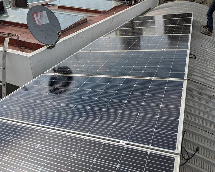 Dự án lắp đặt hệ thống hòa lưới điện mặt trời 4KWp ở Phú Nhuận 6