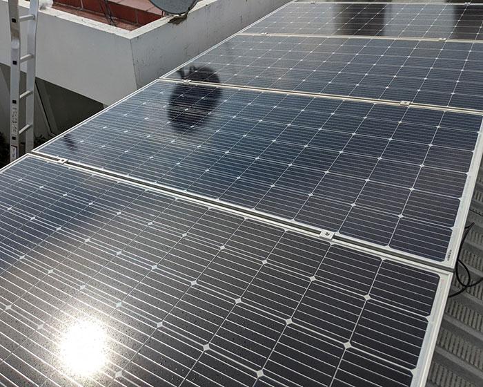 Dự án lắp đặt hệ thống hòa lưới điện mặt trời 4KWp ở Phú Nhuận 8
