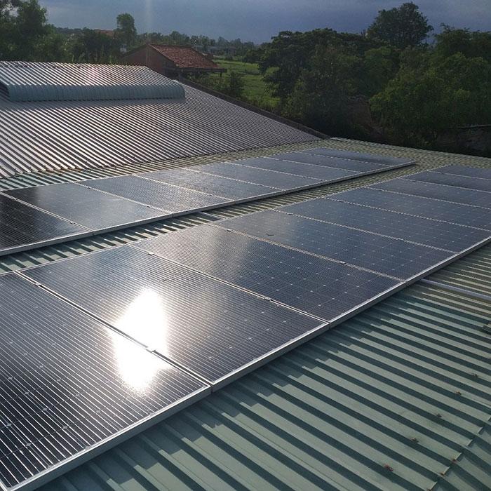 hệ thống năng lượng mặt trời 7KWp anh Lộc Bến Tre 2