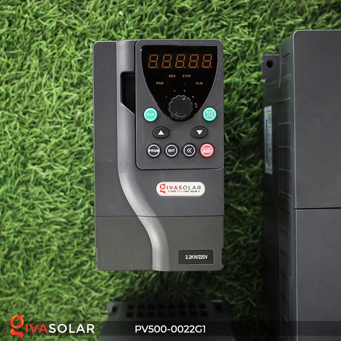 Inverter bơm nước năng lượng mặt trời PV500-0022G1 2.2kw 1