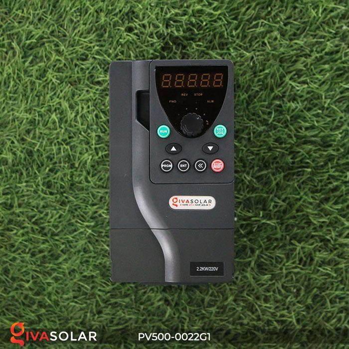 Inverter bơm nước năng lượng mặt trời PV500-0022G1 2.2kw 2