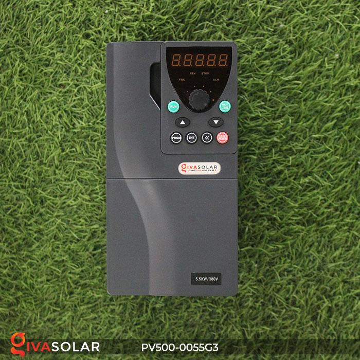 Inverter hệ thống bơm nước điện mặt trời PV500-0055G3 5.5KW 2