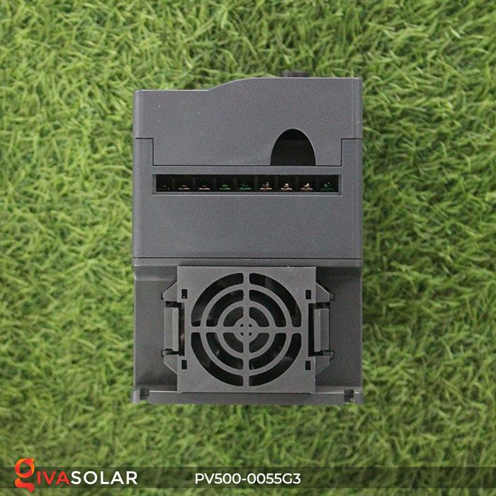 Inverter hệ thống bơm nước điện mặt trời PV500-0055G3 5.5KW 3